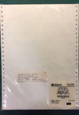 *8500 labels Brady DAT-151-292-10 Datab® Dot Matrix - White/translucent