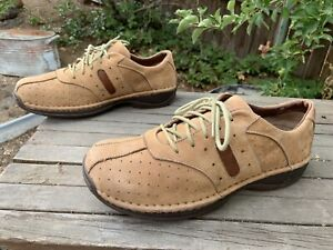 Red Wings Shoes 10 D Men's Nubuck Leather Suese Low Sneaker Work Shoes