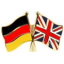 Freundschaftspin Deutschland - Großbritannien Anstecker Anstecknadel Fahne Doppe