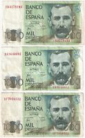 1979   Spain 1000 Pesetas Banknotes   Banknotes   KM Coins