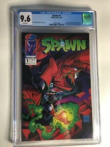 SPAWN #1 1992 KEY 1ST APP. OF SPAWN TODD McFARLANE IMAGE COMICS CGC 9.6