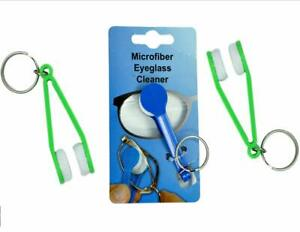 Sunglass and Eyeglass Microfiber Lens Cleaner (3 Pack), Assorted Colors