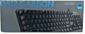 Logitech G512 Carbon RGB Mechanical Gaming Keyboard - 920-009840 - BRAND New!!!