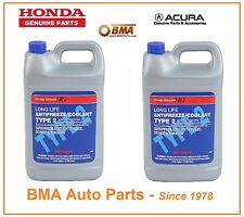 OE HONDA ACURA Coolant Antifreeze Civic Accord Prelude Odyssey CR-V Acura TL x 2