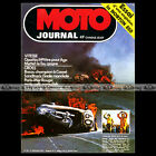 MOTO JOURNAL N°184 NORTON 850 COMMANDO RAID PARIS-ADEN SIDE-CAR GUZZI V7 S 1974