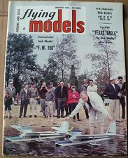 FLYING MODELS MAGAZINE JANUARY 1968,F.W.190,SUPER TIGRE VG CONDITION