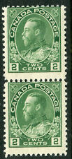 Canada # 107 Fine Never Hinged Strip of 2 Issues - King George V - S6215