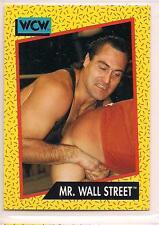 1991 Impel WCW Wrestling Mr. Wall Street