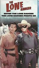 The Lone Ranger Volume 1 Two Episodes vhs