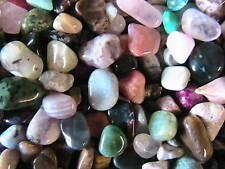 TUMBLED STONES 4 LB Polished Mix over 100 different stones Assortment