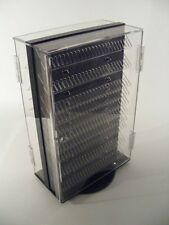 """Two-Side Rotating Locking Body Jewelry Display 13x7.5x20""""H Holds 480pcs MADE USA"""