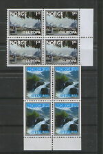 NORWAY-MNH* -BLOCK OF 4 STAMPS-EUROPA CEPT-1977.