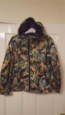 Mens Hooded Jacket Hoodie - Pull & Bear Special Street - Green Jungle - S EUR