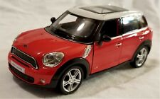 "RMZ City - 5"" Scale Model Mini Cooper S Countryman Red (BBUF555001R)"