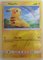 Pokemon Pikachu 28/73  Reverse Holo - Shining Legends - Englisch NM