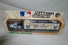 2001 New York Yankees Truck Trailer Metal Die cast Collectibles Scale 1:80