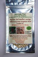 Organic 100% Tongkat Ali - 350mg x 60 Capsules - Eurycoma longifolia