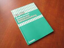 NEW Casio PB-220 Personal Computer Bertiebsanleitung book