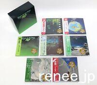 YES / JAPAN Mini LP SHM-CD x 7 titles + PROMO BOX (Close To The Edge BOX) Set!!