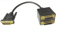 DVI Digital Dual Signal Splitter Duplicator - Split 1 Video Connection Into 2