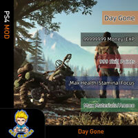 Days Gone(PS4 Mod)-Max Money/Skill Points/EXp/Health/Stamina/Focus/Materials