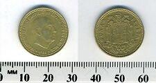 Spain 1966 (1968) - 1 Peseta Aluminum-Bronze Coin - Francisco Franco, caudillo