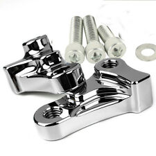 "1.75"" Chrome Drop Lowering Kit For Harley Dyna Wide Glide Super Glide 2006-2017"