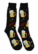 Mens Fun Crew Socks T.G.I.F Beer 1 Pair Themed Patterned Socks Father's Day Gift