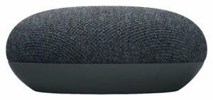 Google Nest Mini 2nd Generation Smart Speaker with Google Assistant - Charcoal