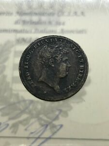 1 Tornese 1845 Ferdinando II di Borbone BB RARO