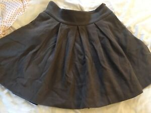 Cabbages And Roses Wool Pleated Skirt Size 10
