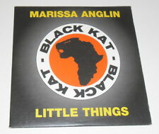 MARISSA ANGLIN - LITTLE THINGS - 2001 UK 3 TRACK PROMO CD SINGLE IN CARD SLEEVE