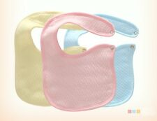 10pcs/Lot Baby Unisex Cotton Bibs Waterproof Kids Children Saliva Burp Apron