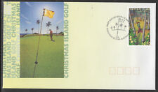 CHRISTMAS IS 1995 40th ANNIVERSARY GOLF COURSE 1v FDC