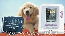 NUEVO Digital Color de la presión arterial monitor LCD CONTEC08A veterinaria,CE