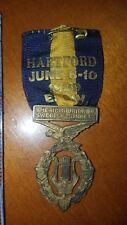 1939 AUSS American Union Swedish Singers HARTFORD CONNECTICUT MEDAL RIBBON