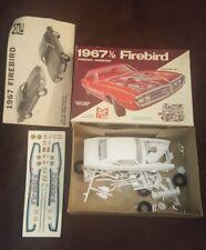 MPC 1967-1/2 Pontiac Firebird 1/25 #1567 Unbuilt Mint Hardtop Rare Model Kit