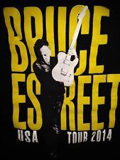 BRUCE SPRINGSTEEN E STREET BAND 2014 TOUR SHIRT ADULT LARGE.