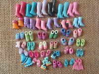 Polly Pocket Lot of 36 Pairs of Doll Shoes Roller Skates 9-55