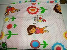 Dora the Explorer full flat sheet pink  ( Fabric / Material)