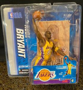 NBA NIB McFarlane Series 9 KOBE BRYANT 3  Los Angeles Laker NEW