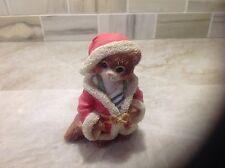 "Calico kittens Figurine ""Jolly Old St. Nicholas"" NIB"