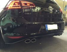 Golf 7 GTD Sportauspuff + Diffusor Auspuff GTI Endschalldämpfer VW VII  R LOOK