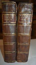 STORIA REPUBBLICA DI VENEZIA - ediz. 1719-1720 - Garzoni - 2 VOLUMI