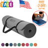 Extra Thick Yoga Mat Exercise Mats Workout Fitness Pilates Non Slip Foam Go Pad.