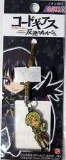 Code Geass Schneizel Netsuke Phone Strap Anime Manga Licensed NEW