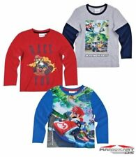 Mario Long Sleeve T-Shirts & Tops (2-16 Years) for Boys