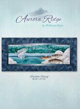 Quilt Pattern ~ AURORA RIDGE ~ RAINBOW RISING ~ BLOCK 8 ~ by McKenna Ryan