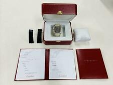 Cartier Santos 100 limited model gray dial m21456785917 Pre-owned From Japan