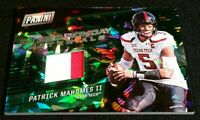 RC JSY /25 PATRICK MAHOMES II CRACKED ICE SSP ROOKIE MATERIALS 2017 Cyber Monday